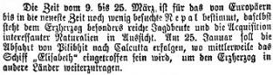 Franz Ferdinand in India, Neue Freie Presse 6.2.1893, p. 3, part b