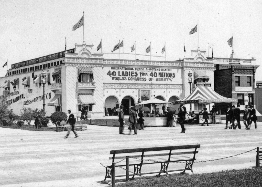 Official Views Of The World's Columbian The world exposition's Congress Of Beauty on the Midway