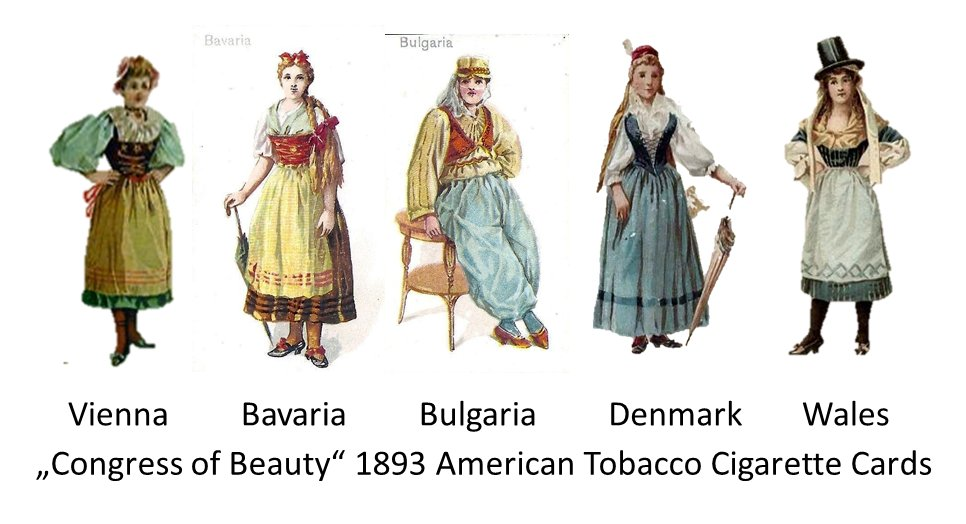 American Tobacco cigarette cards 1893